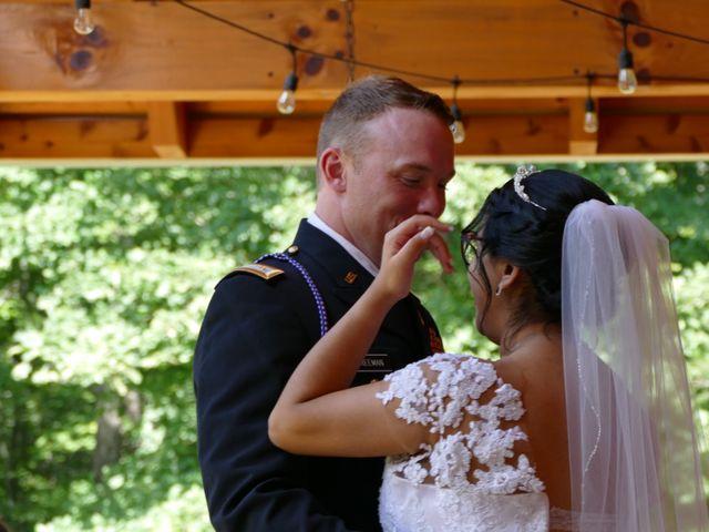 Kirk and Laura Freeman's Wedding in Mills River, North Carolina 14