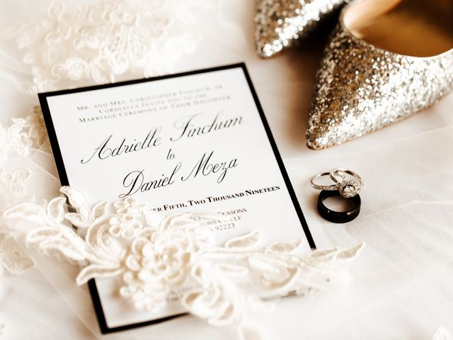 The wedding of Adrielle and Daniel