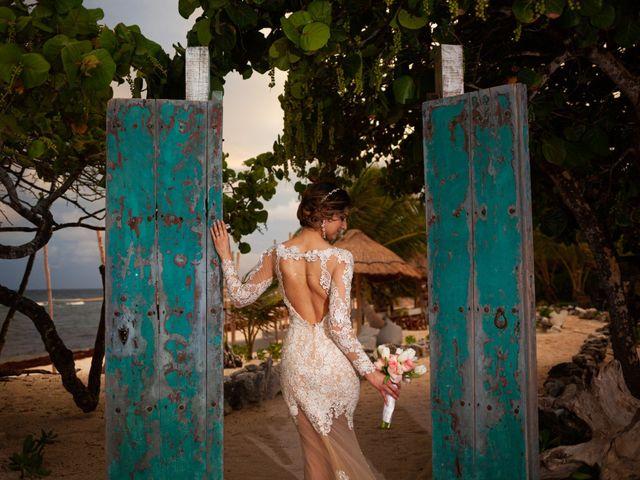 Arturo and Liz's Wedding in Playa del Carmen, Mexico 14