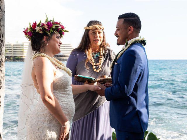 Rebecca and Tyson's Wedding in Kailua Kona, Hawaii 5