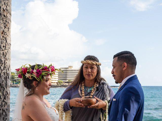 Rebecca and Tyson's Wedding in Kailua Kona, Hawaii 6