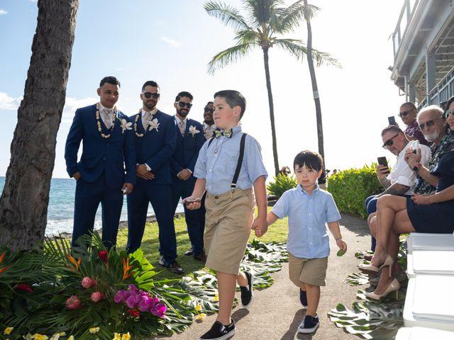 Rebecca and Tyson's Wedding in Kailua Kona, Hawaii 7
