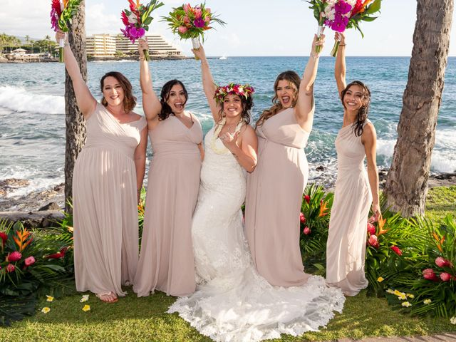 Rebecca and Tyson's Wedding in Kailua Kona, Hawaii 9