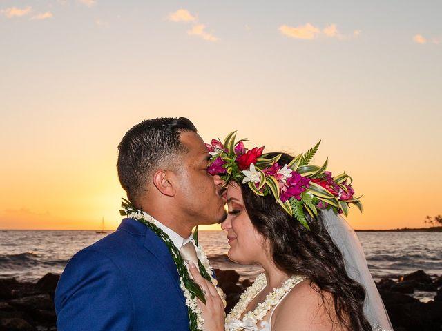 Rebecca and Tyson's Wedding in Kailua Kona, Hawaii 11