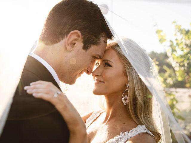 The wedding of Kyra and Josh