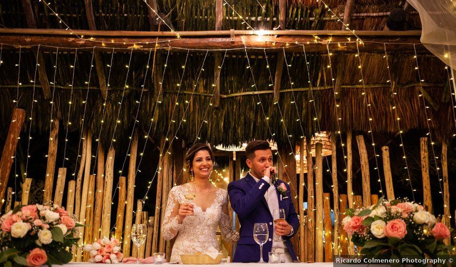 Arturo and Liz's Wedding in Playa del Carmen, Mexico