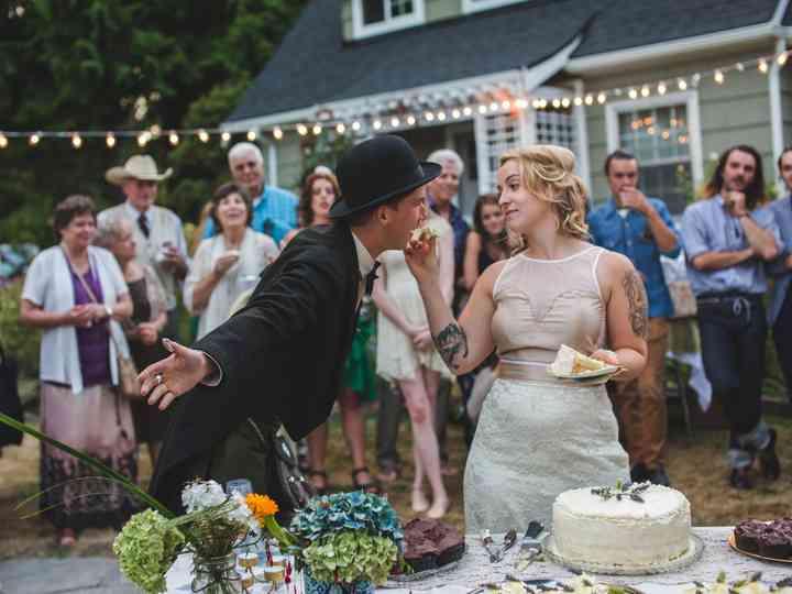 The wedding of Hana and Marc
