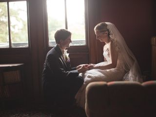 The wedding of James and Michelle
