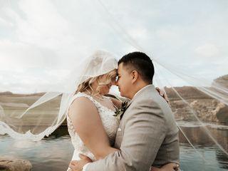 The wedding of Amanda and Johnathan