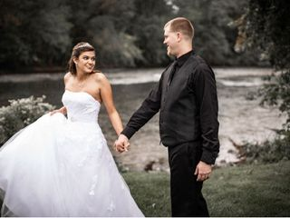 The wedding of Brittanni  and Travis