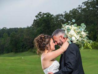 The wedding of Lisa and Damon 1