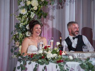 The wedding of Lisa and Damon