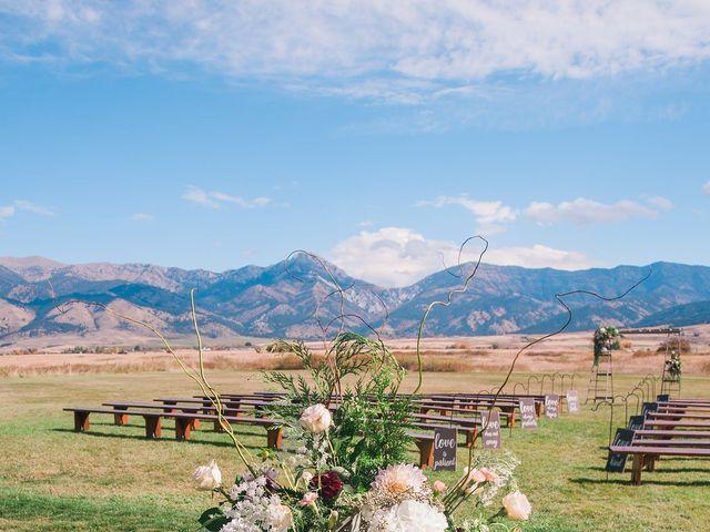 Tom and Ashley's Wedding in Bozeman, Montana 4