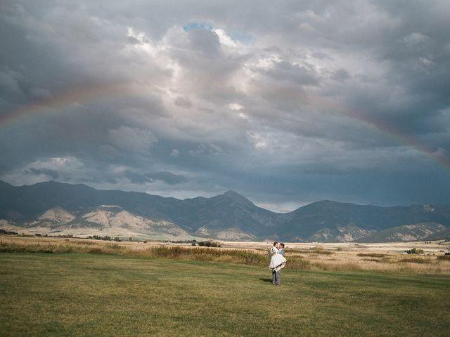 Tom and Ashley's Wedding in Bozeman, Montana 19