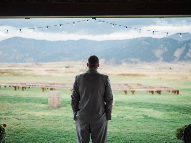 Tom and Ashley's Wedding in Bozeman, Montana 33
