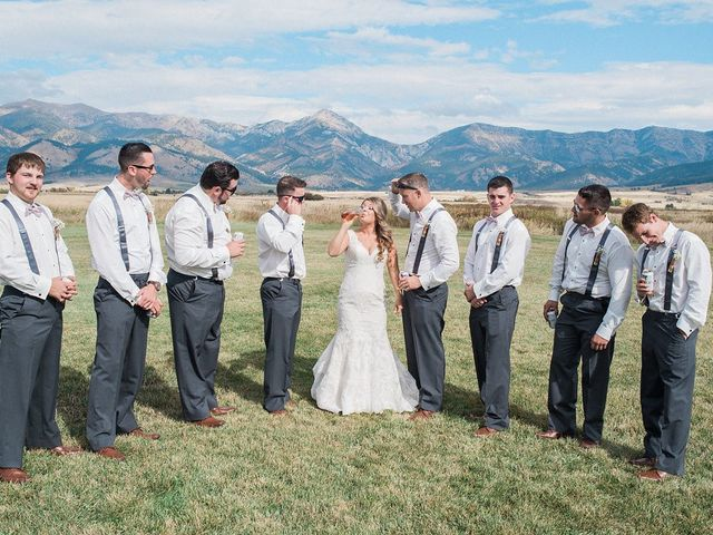 Tom and Ashley's Wedding in Bozeman, Montana 35
