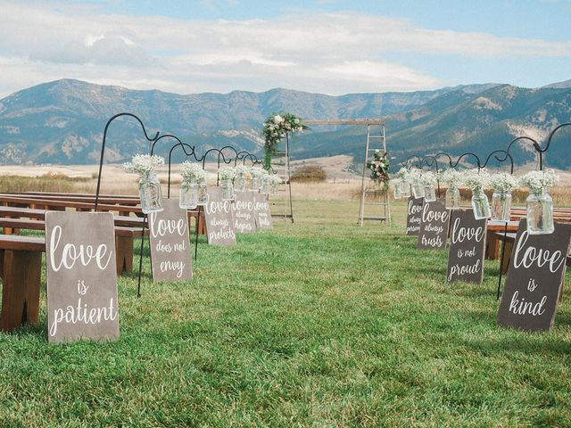 Tom and Ashley's Wedding in Bozeman, Montana 47