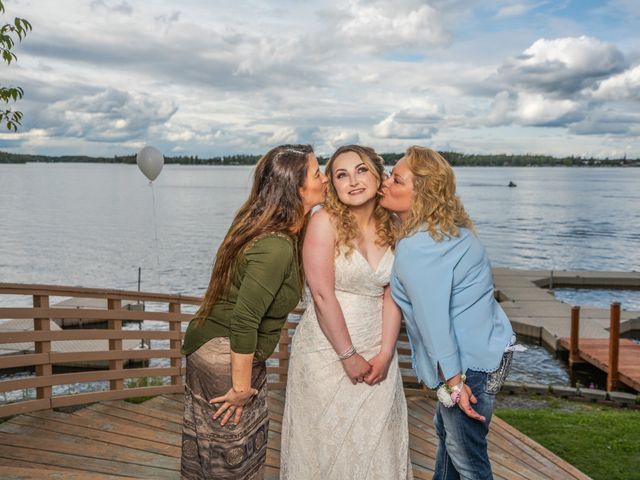 Kyle and Tessa's Wedding in Big Lake, Alaska 6