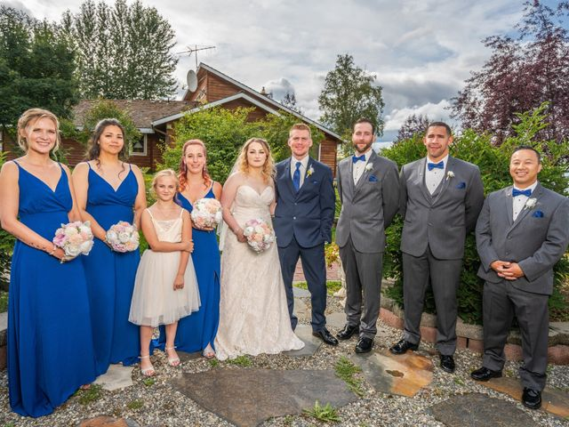 Kyle and Tessa's Wedding in Big Lake, Alaska 11