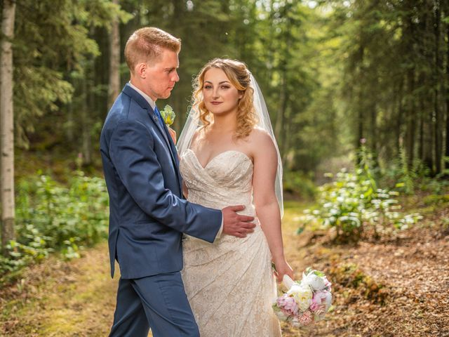 Kyle and Tessa's Wedding in Big Lake, Alaska 14