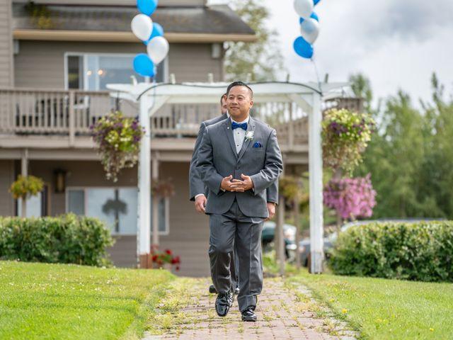 Kyle and Tessa's Wedding in Big Lake, Alaska 16