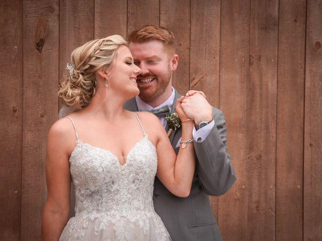 The wedding of Michael and Alexa