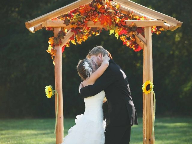 Brittany and Josh's Wedding in Asheboro, North Carolina 10