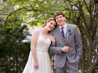 The wedding of Rosie and Ryker