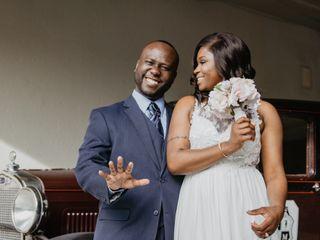 The wedding of Jomara and Brian