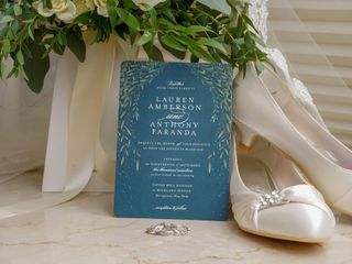 The wedding of Lauren and Anthony 1