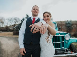 The wedding of Kelsey and Chris