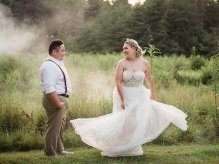 The wedding of Skyler and Jon