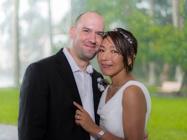 Mitsuyo and Benjamin's Wedding in Fort Lauderdale, Florida 3