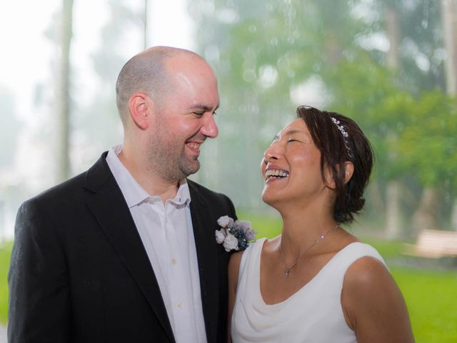 Mitsuyo and Benjamin's Wedding in Fort Lauderdale, Florida 5