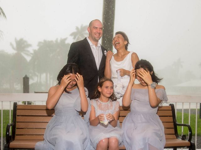 Mitsuyo and Benjamin's Wedding in Fort Lauderdale, Florida 7