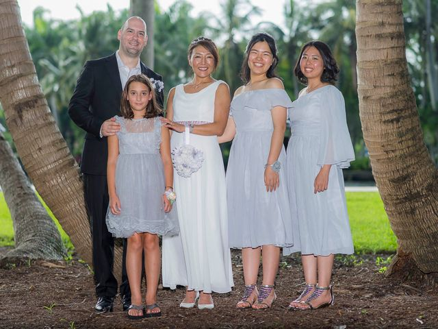 Mitsuyo and Benjamin's Wedding in Fort Lauderdale, Florida 8