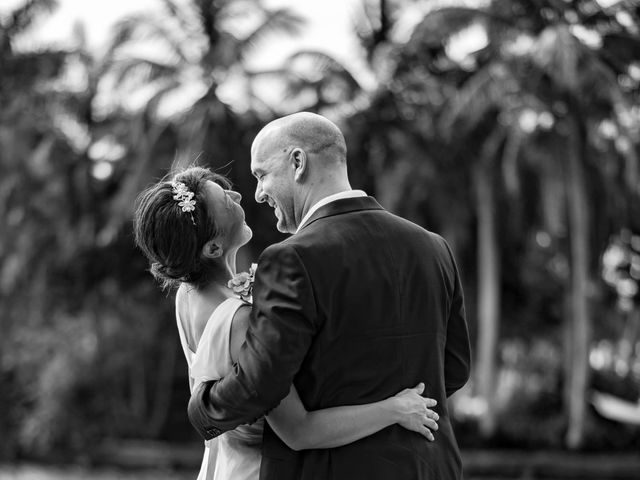 Mitsuyo and Benjamin's Wedding in Fort Lauderdale, Florida 10
