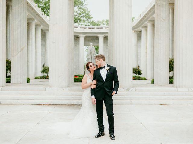 The wedding of Sarah and David