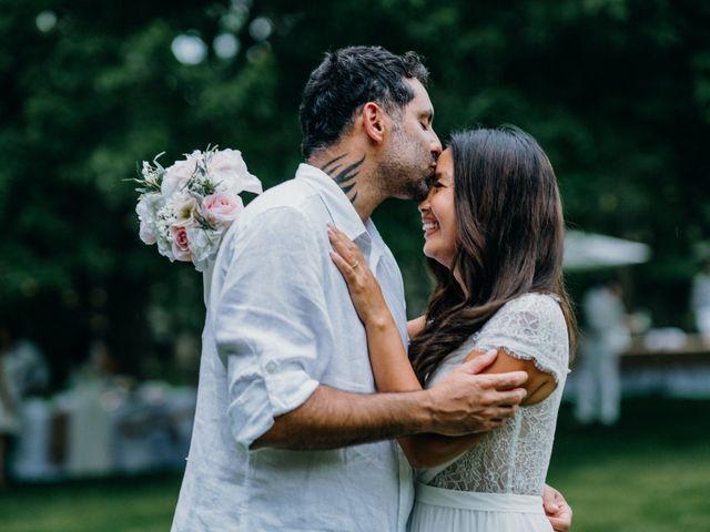 The wedding of Polene and Amir