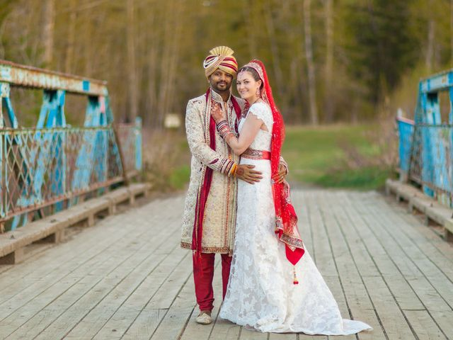 The wedding of Nishant and Cassandra