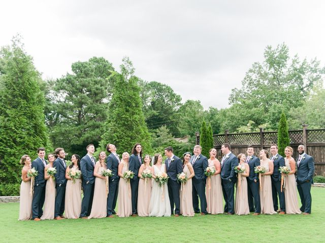 Leah and Zac's Wedding in Birmingham, Alabama 19