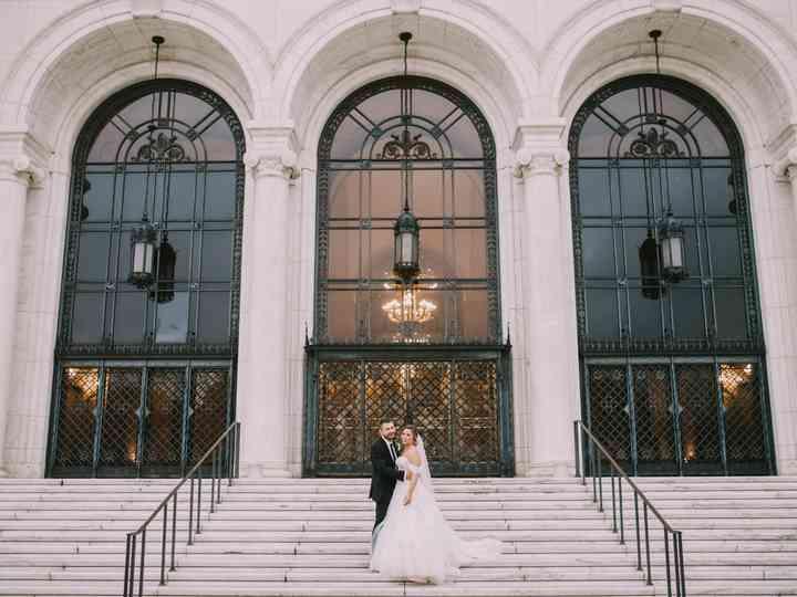 The wedding of Ana and Edin
