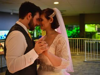The wedding of Alyssa and Jared
