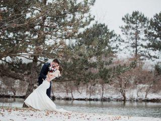 The wedding of Stephen and Sarah