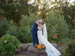 The wedding of Monique Ares and Scott Poitras