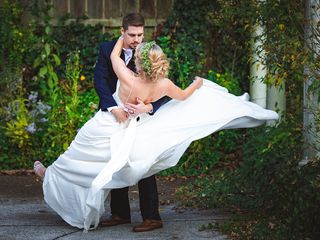 The wedding of Casey and Lucas