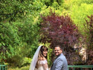 The wedding of Adam and Liz 1