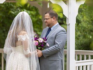 The wedding of Adam and Liz