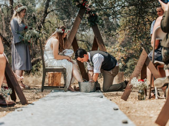 Josh and Haley's Wedding in North Fork, California 13