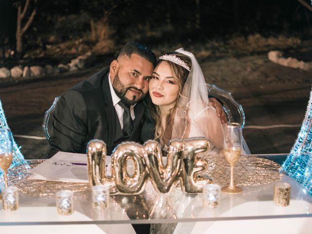 The wedding of Jesus and Daniela